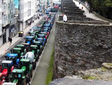 Agromuralla decide mantener los tractores en su ubicación actual de manera indefinida