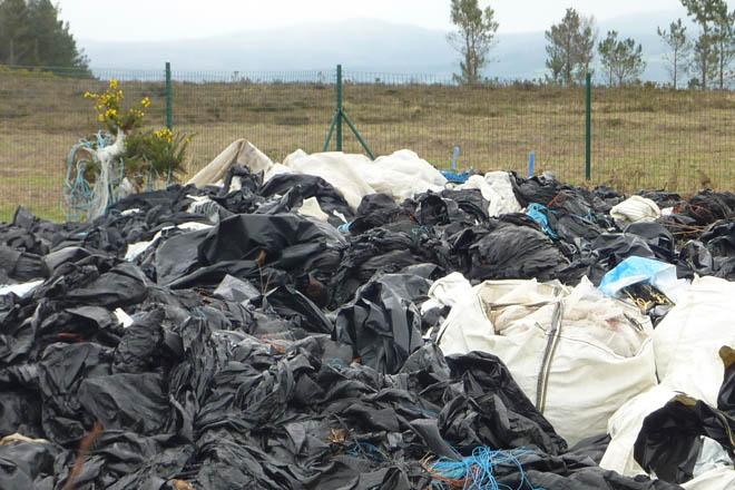 Lalín inicia a partir del día 10 la primera campaña del año de recogida de plásticos de silo