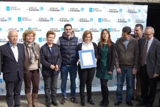 Quesos Feijoo obtén o certificado de Galicia Calidade para o seu queixo de Tetilla