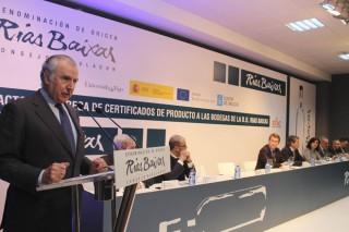 170 adegas de Rías Baixas reciben a certificación ENAC