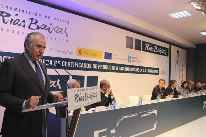 As exportacións de Rías Baixas medran un 7,6% en 2015 e representan máis do 28% das vendas