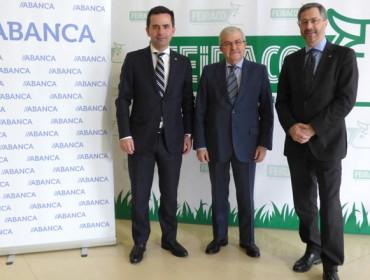 ABANCA e Feiraco asinan un convenio de colaboración financeira