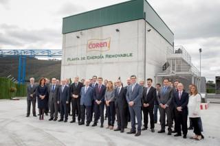 Coren pon en marcha a Planta Enerxética de Biomasa Gandeira