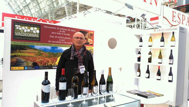 A DO Valdeorras participa na London Wine Fair