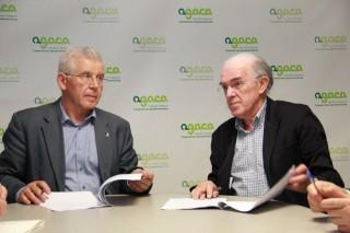 A Fundación Juana de Vega e AGACA alíanse para promover boas prácticas na cadea de valor alimentaria