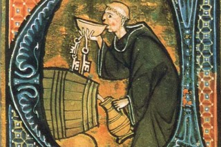 Que rutas seguía o viño do Ribeiro no medievo?