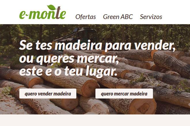E-monte, unha plataforma online para a venda de madeira