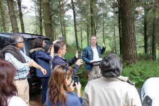 Monte Rioboo, 25 años del proyecto de ordenación del primer monte privado de Galicia