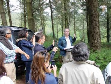 Monte Rioboo, 25 anos do proxecto de ordenación do primeiro monte privado de Galicia