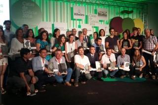 Premiados nas Catas de Viños e Augardentes de Galicia 2016