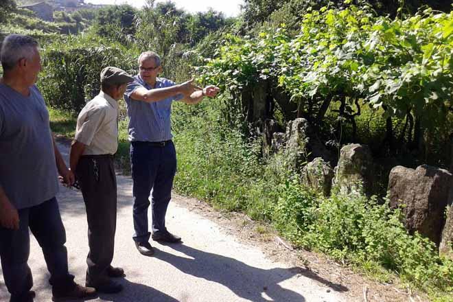 Pedro Ballesteros augura un gran futuro os tintos de Rías Baixas