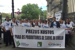 Ameaza de peche para as granxas galegas de coello debido aos baixos prezos