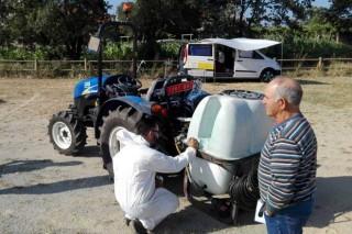 Calendario para la inspección de los equipos de aplicación de fitosanitarios en febrero