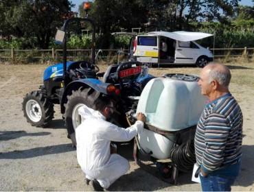 Calendario de Nagar Servicios para a inspección dos equipos de aplicación de fitosanitarios en xaneiro