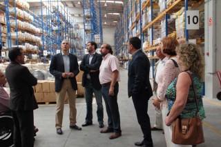 Conde destaca a visión empresarial das cooperativas na súa visita a Delagro