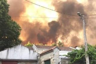 Convocadas as axudas polos danos dos lumes de outubro