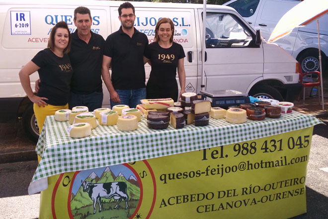 Quesos Feijóo: fifth generation of one of the oldest cheese factories in Galicia