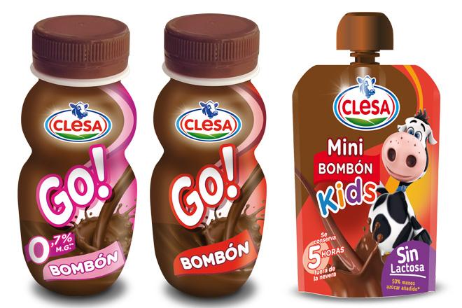 Clesa lanza al mercado el Bombón Go y el Mini Bombón Kids Pouch