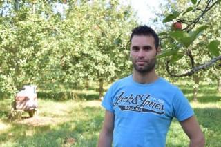 Javier Agrelo: un exemplo de fruticultura a tempo parcial