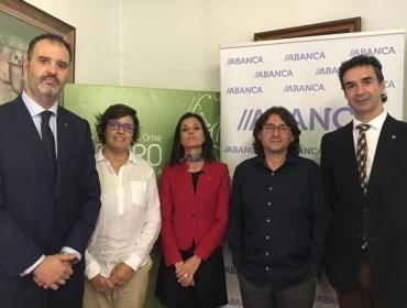 ABANCA y el C.R.D.O. Ribeiro firman un convenio pionero para ayuda a bodegas y viticultores