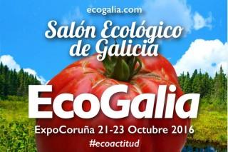 Ecogalia exporá este fin de semana na Coruña o último en produtos bio e ecolóxicos