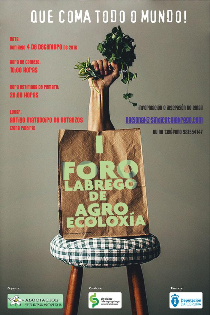 Betanzos acollerá en decembro o I Foro Labrego de Agroecoloxía
