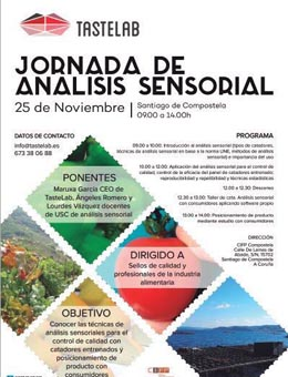 Xornada de análise sensorial de alimentos