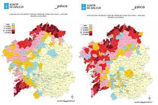 Aumenta un 68% o número de niños de Vespa Velutina retirados ou inactivados en Galicia