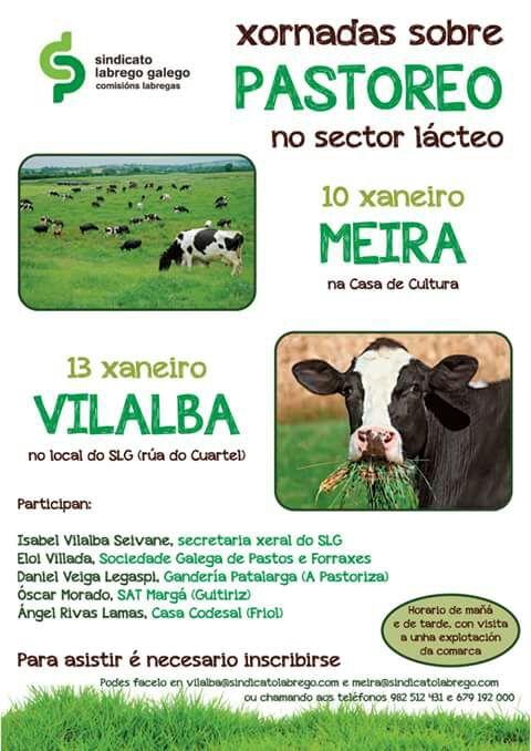 Xornadas do Sindicato Labrego sobre pastoreo en vacún de leite
