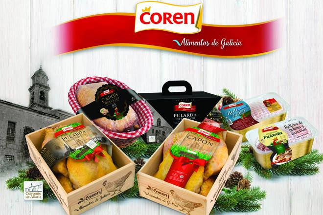 Coren prevé comercializar este Nadal 14.000 capóns