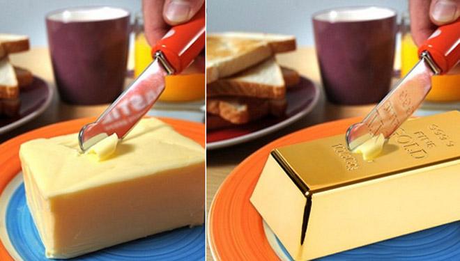 Os consumidores europeos quédanse sen manteiga