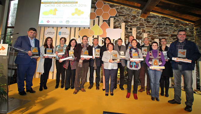 Premiados en la XIX Cata de los Quesos y XV Cata de las Mieles de Galicia