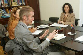 O novo presidente da INLAC reúnese coa conselleira do Medio Rural