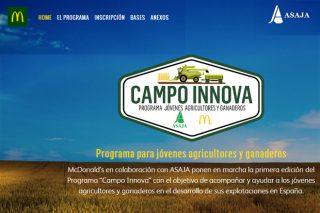"""Aberto o programa """"Campo Innova"""" de MacDonald´s e Asaja"""