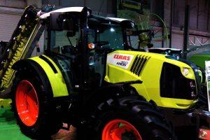 Tractor premiado.