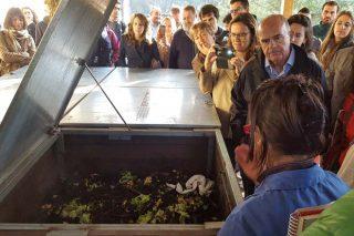 A compostaxe reduce en 3.000 toneladas os envíos de lixo a Sogama na provincia de Pontevedra