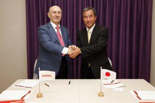 Coren e a Universidade de Kioto únense para desenvolver novos produtos a partir do ovo