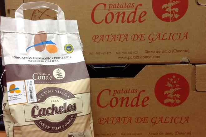 """""""Cachelos Conde"""": a pataca galega tradicional lánzase a polo mercado español"""