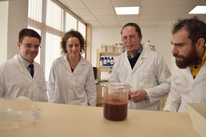 Desinfectantes e produtos de hixiene a partir da casca de castaña e restos forestais