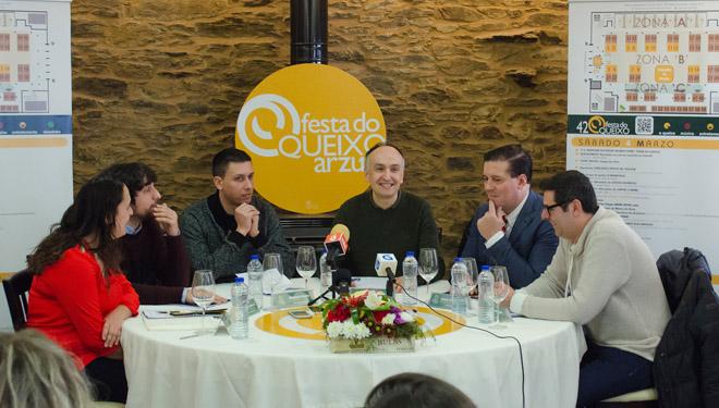 Programa completo de la Festa do Queixo de Arzúa, con 70 expositores inscritos