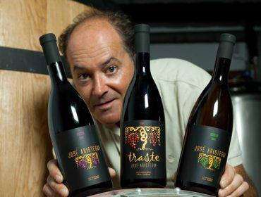José Luis Aristegui, un viticultor outsider