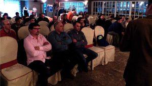 Asistentes ó encontro do Clube, o pasado sábado en Lugo.