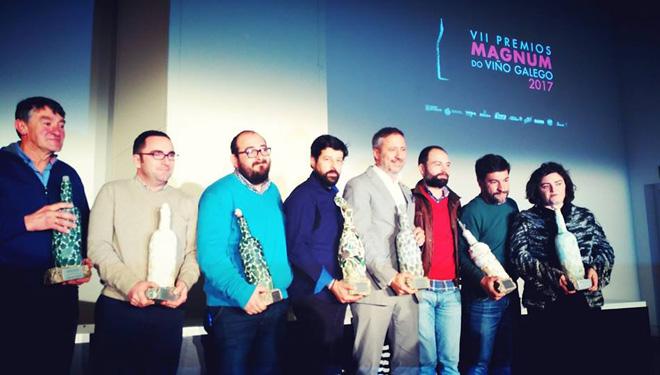 Galardonados en los Premios Magnum 2017 del Instituto Galego do Viño