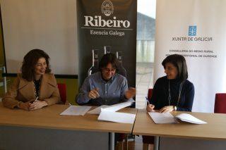 La Xunta cede instalaciones para la sede del Consejo Regulador de la DO. Ribeiro