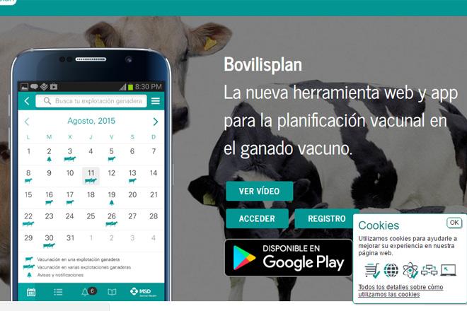Bovilisplan, a nova ferramenta de xestión do calendario de vacinacións