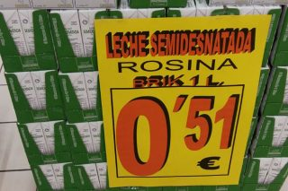Gadis retira as ofertas de leite a 49 e 51 céntimos