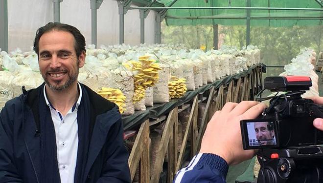 """""""El potencial de los bosques gallegos para la producción de hongos es enorme y ayudaría a recuperar el rural"""""""
