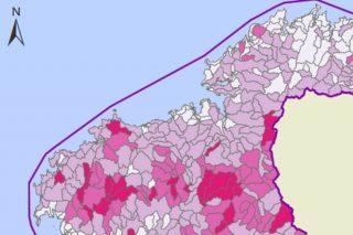 Sólo el 2% de los acuíferos de la Galicia Atlántica están afectados por nitratos