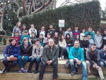 Escolares de Cervantes participan en las Jornadas de Apicultura de la Diputación de Lugo