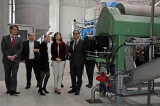 Inaugurada en Cerceda unha planta que producirá fariñas cárnicas para fertilizantes